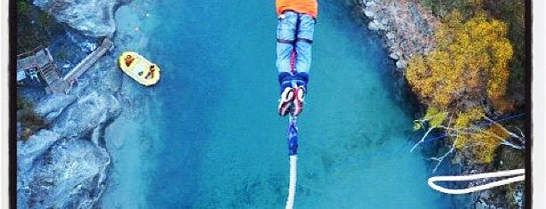 Kawarau Bridge Bungy is one of Best of World Edition part 1.