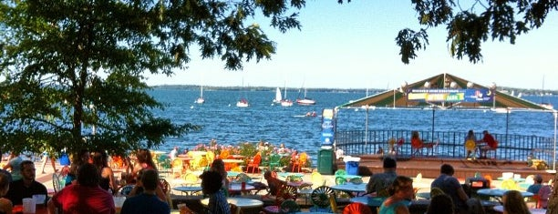 Memorial Union Terrace is one of My Favorite Places Around The Town.