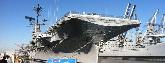 USS Hornet - Sea, Air and Space Museum is one of Paranormal Traveler.