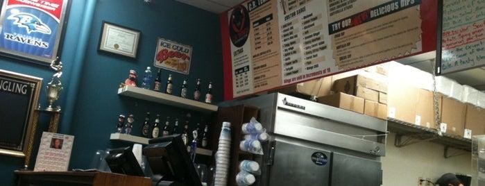 C.R. Wings is one of Favorite restaurants.
