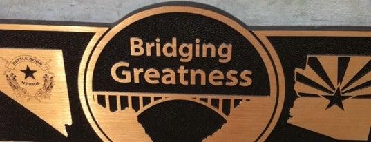 Mike O'Callaghan-Pat Tillman Memorial Bridge is one of USA Trip 2013 - The Desert.