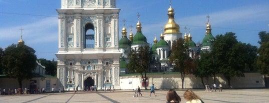 Sofiivska Square is one of Площади города Киева.