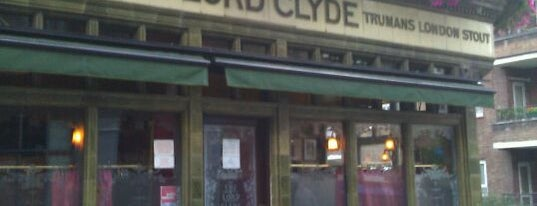 The Lord Clyde is one of London Restaurants to Try.