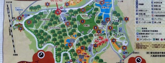 大高緑地公園 is one of 日本の都市公園100選.