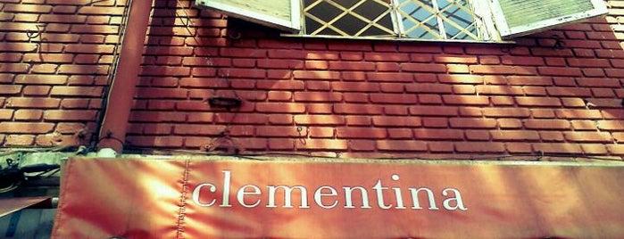 Clementina is one of Sandwicherias de Santiago.