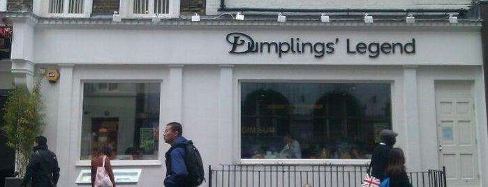 Dumplings' Legend is one of Restaurantes.