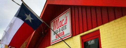 Mac's Bar-B-Que is one of Dallas's Best BBQ Joints - 2012.