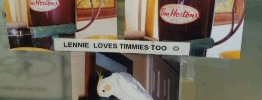 Tim Hortons is one of Favorite Food.