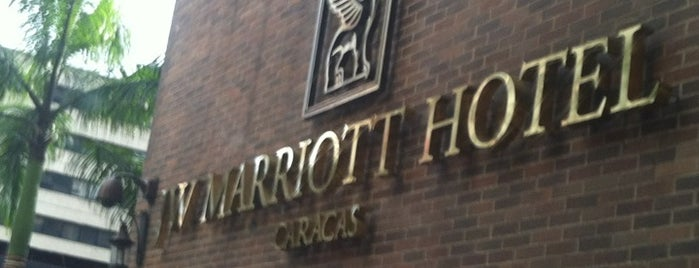 JW Marriott Hotel is one of Hoteles.