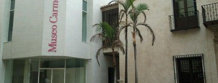 Museo Carmen Thyssen Málaga is one of Nuestro Top 10 de lugares favoritos en Málaga..