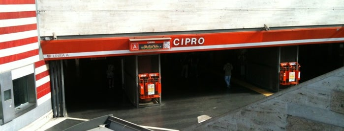 Metro Cipro (MA) is one of Muoversi a Roma.