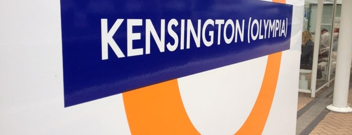 Kensington (Olympia) Railway Station (KPA) is one of District Line.