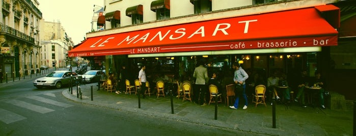 Le Mansart is one of Paris.