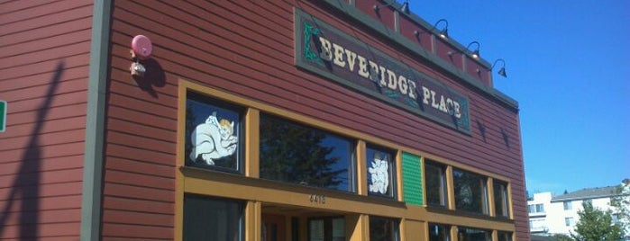 Beveridge Place Pub is one of Seattle Microbrews.