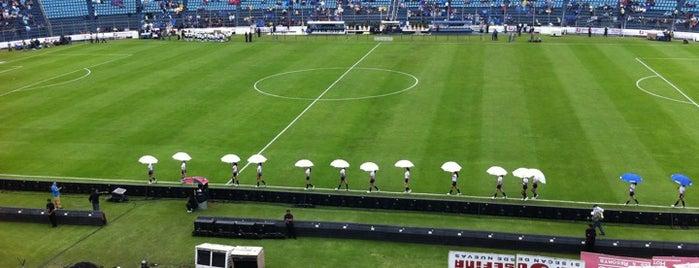 Estadio Azul is one of ¡Cui Cui ha estado aquí!.