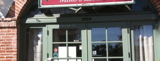 Miro's Restaurant is one of Palm Springs.