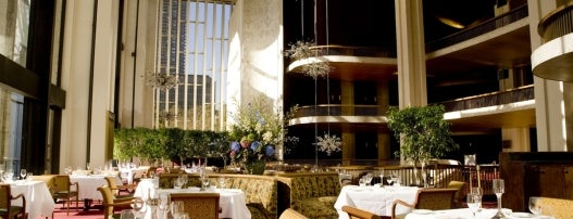Grand Tier Restaurant at The Metropolitan Opera House is one of NYC's Upper West Side.