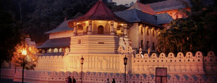 Temple of the Sacred Tooth Relic is one of seri lanka.