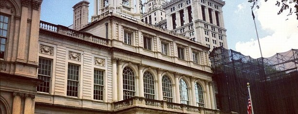 New York City Hall is one of NYC Monuments & Parks.