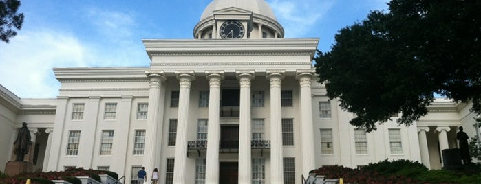 Alabama State Capitol is one of State Capitols.