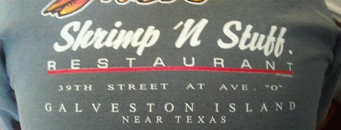 Shrimp N Stuff is one of Road trip.