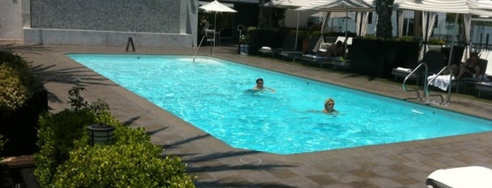 The London West Hollywood at Beverly Hills is one of Best Los Angeles Pool Parties.