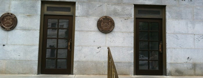US Department of the Treasury is one of ♡DC.