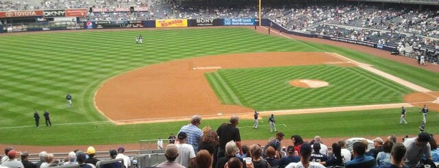 Yankee Stadium is one of My favorite spots in NYC!.