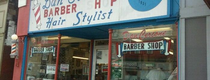 Cercones Barbershop is one of Experience Bloomfield!.