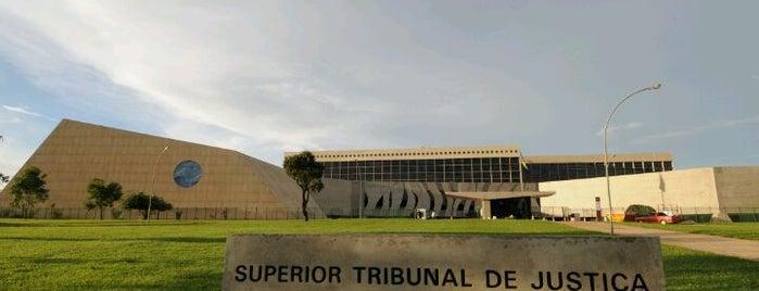 Superior Tribunal de Justiça (STJ) is one of Bote.
