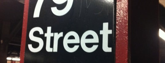 """MTA Subway - 79th St (1) is one of """"Be Robin Hood #121212 Concert"""" @ New York!."""
