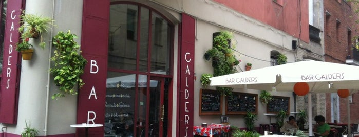 Bar Calders is one of BCN new.