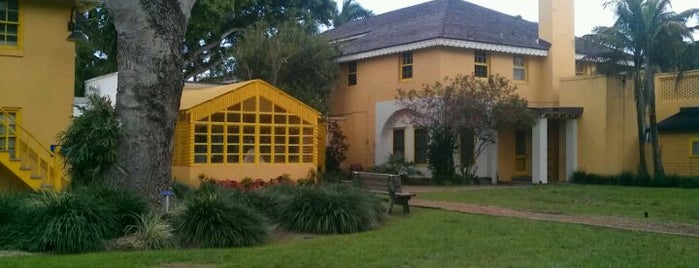 Bonnet House Museum & Gardens is one of Local Favorites in Fort Lauderdale #VisitUS.