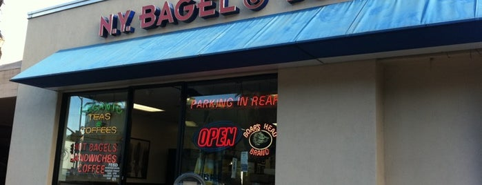 New York Bagel & Deli is one of The 15 Best Places for Cinnamon Rolls in Los Angeles.