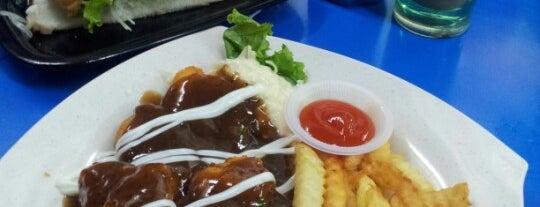 Angah D&C Western & Steam Burger is one of Johor Trip.