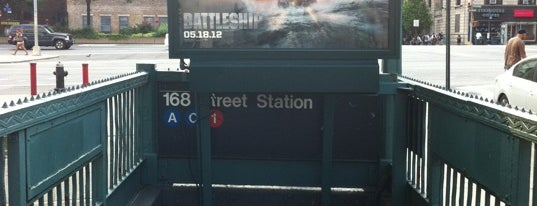 """MTA Subway - 168th St (A/C/1) is one of """"Be Robin Hood #121212 Concert"""" @ New York!."""