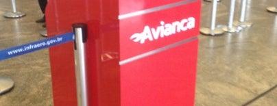 Check-in Avianca is one of Aeroporto de Guarulhos (GRU Airport).