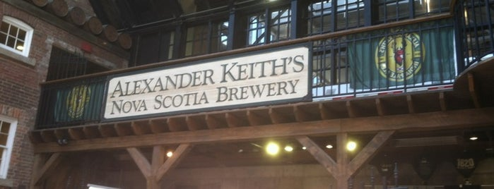 Alexander Keith's Brewery is one of Halifax, NS.