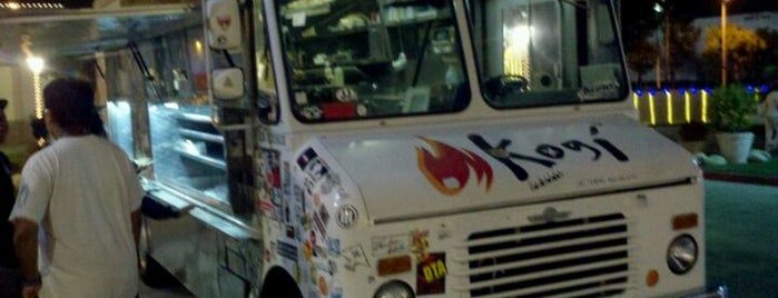 Kogi BBQ Truck is one of My Faves in Los Angeles.