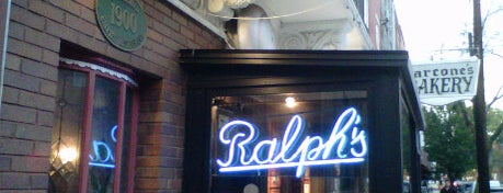 Ralph's Italian Restaurant is one of NY Region Old-Timey Bars, Cafes, and Restaurants.