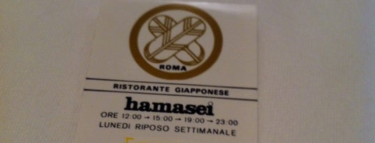 Hamasei is one of Sushi and Asian Food in Rome.
