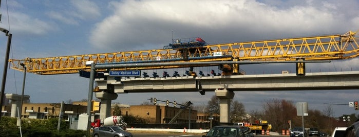 Tysons East Metro Station (Future Location) is one of WMATA Silver Line.