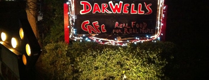 Darwell's Cafe is one of Diners, Drive-Ins, & Dives.