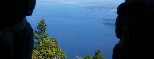 Mt. Constitution is one of Orcas- San Juan Islands, WA.