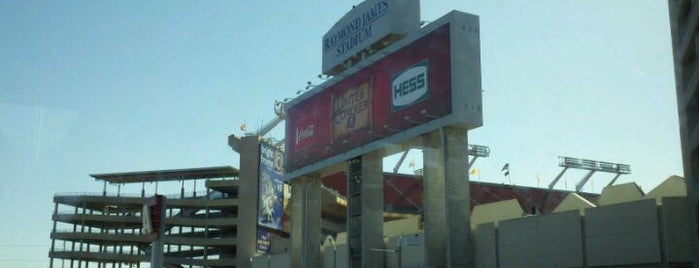 Raymond James Stadium is one of Tampa Attractions.