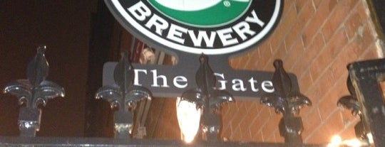 The Gate is one of Good Beer Seal bars.