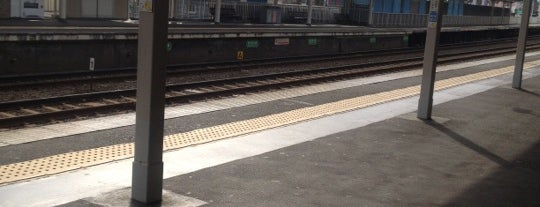 Tonda Station (HK71) is one of 阪急京都本線・千里線・嵐山線の駅.