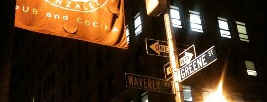 Murphy & Gonzalez is one of NYC Bars w/ Free Wi-Fi.