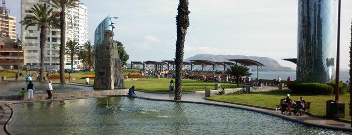 Larcomar is one of Lima, Ciudad de los Reyes.