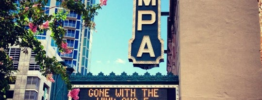 Tampa Theatre is one of Tour of Tampa.